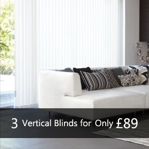 3 Vertical Blinds for only £89 - Many More Blinds in store. Vertical Roman Roller Venetian Wooden Blinds, pleated, energy saving blackout blinds