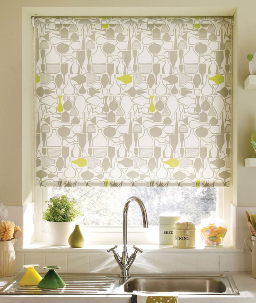 Roller blinds alams beautiful blinds - Cortinas para cocina ...