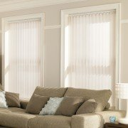 Vertical blinds - boho cream