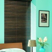 wooden blinds -