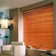 wooden blinds - medium oak exp